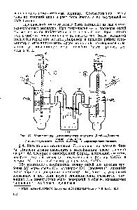 Рис. 42. Модификация гальванического элемента Якоби—Даниеля (химическая цепь)